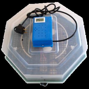 Incubator electric 5DTH cu dispozititv de intoarcere oua si termohigrometru